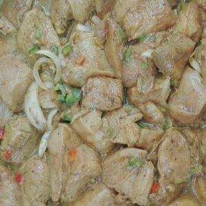 سینه باربیکیو (دودی)  یک کیلو