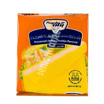 پنیر چدار ورقه ای 10 عددی پگاه