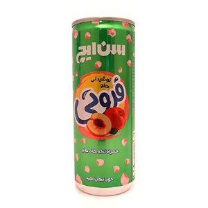نوشیدنی هلو 240میل قوطی سن ایچ