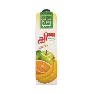 آب سیب پرتقال موز غنی شده با فیبر سن ایچ