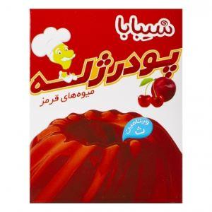 پودر ژله میوه های قرمز شیبابا