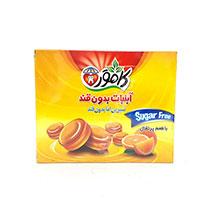 آبنبات بدون قند پرتقالی 130 گرم کامور