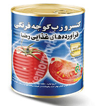 کنسرو رب گوجه فرنگی رضا