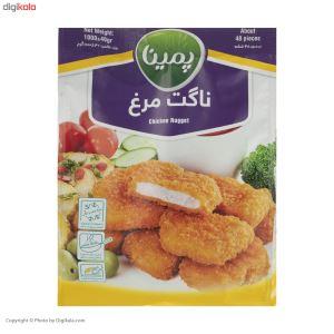 ناگت مرغ مهمانی 1000گرمی پمینا کاله