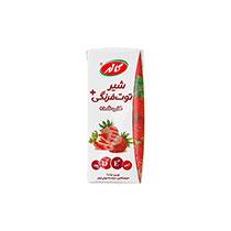 شیر توت فرنگی تتراپک 200 گرم کاله