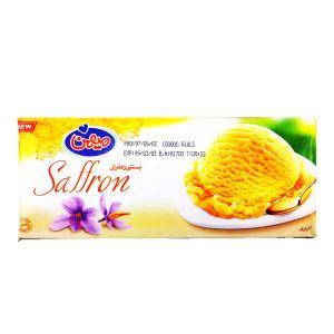 بستنی زعفرانی1 لیتری میهن