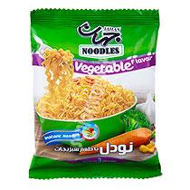 نودل جهان با طعم سبزیجات