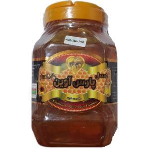 عسل پت1000گ با موم پارس آوین
