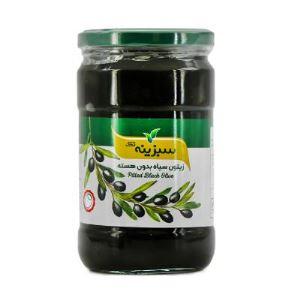 زیتون سیاه بدون هسته 630گرم سبزینه