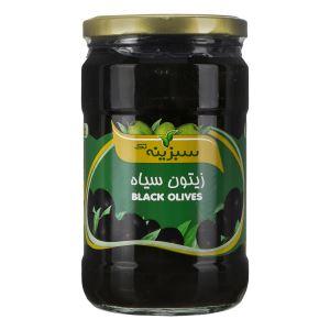 زیتون سیاه 700 گرم سبزینه تک