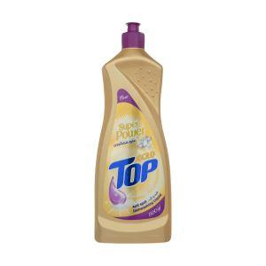 مایع ظرفشویی تاپ گلد ضد رد آب 800گ تاپ