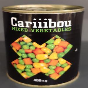 مخلوط سبزیجات 400گرم کاریبو
