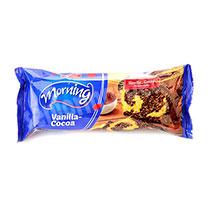کیک صبحانه وانیل کاکائو 100گرم شیرین عسل