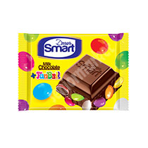 شکلات شیری با اسمارتیس 50گرم شیرین عسل