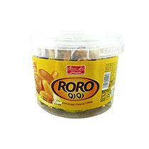 تافی کره ای بادام زمینی سطلی 200گرم شیرین عسل