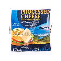 پنیر چدار ورقه ای 10عددی آلیما