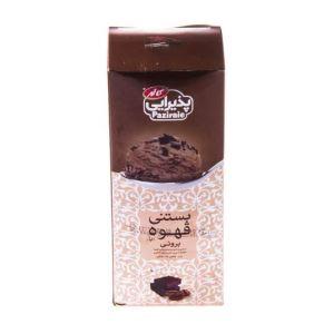 بستنی پاکتی 1 لیتری پذیرایی قهوه کیک براونی کاله