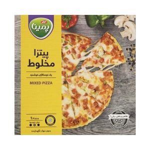 پیتزا مخلوط  سایز متوسط پمینا کاله