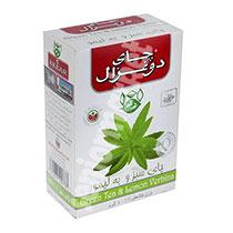 چای سبز ونعناع 100 گرمی دوغزال