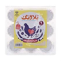 تخم مرغ 9عددی غنی شده با امگا3 تلاونگ