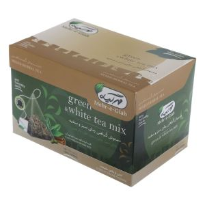 دمنوش گیاهی قهوه سبزوچای سبز14عددی مهرگیاه