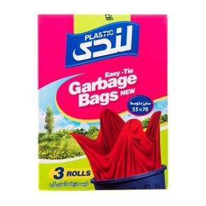 کیسه زباله آسان گره متوسط 42عددی 70*55لندی