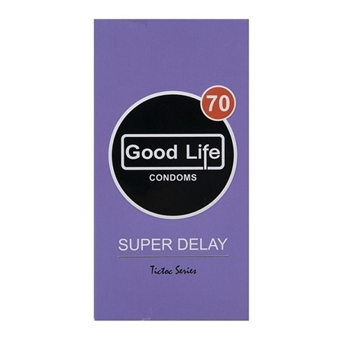 کاندوم سوپر تاخیری کد 70تیک تاک گودلایف